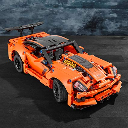 Lego Technic Chevrolet Corvette ZR1 Replica Construction Set, Multi-Colour, 42093 Online Store UAE