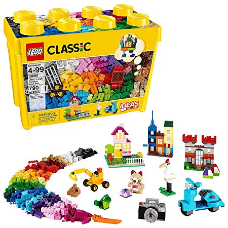 LEGO Classic Large Creative Brick Box 10698 Build Your Own Creative Toys, Kids Building Kit (790 Pieces) Online Store UAE