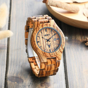 WOODEN WATCH ALW05