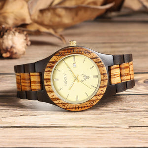 WOODEN WATCH ALW04 Online Store UAE