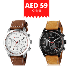 CURREN 8152 Quartz Watches (Buy 1 Get 1) Online Store UAE