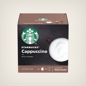 STARBUCKS®️ CAPPUCCINO®️ BY NESCAFÉ®️ DOLCE GUSTO®️ - 3 Packs (36 Capsules) Online Shopping Store