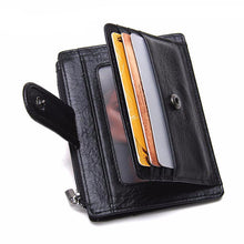 Load image into Gallery viewer, Thin Genuine Leather Men Wallet