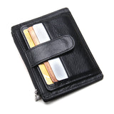 Thin Genuine Leather Men Wallet Online Shopping Store