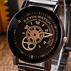 KEVIN Gear Sport Stainless Steel Watch