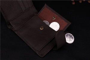 Genuine Leather Wallet With Coin Bag Online Shopping Store