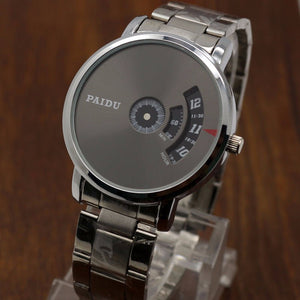 PAIDU - Mesh Silver Steel Band Watch Online Store UAE