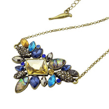 Load image into Gallery viewer, Boho Flower Rhinestone Pendant