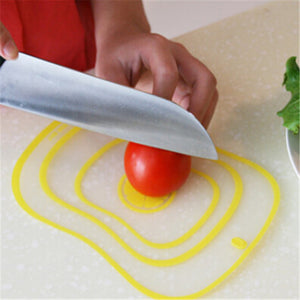 Kitchen Tool - Creative Thin Cutting Plate Plastic Cutting Board Online Shopping Store