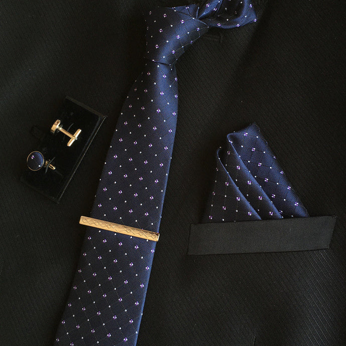 Neck Tie Set Navy