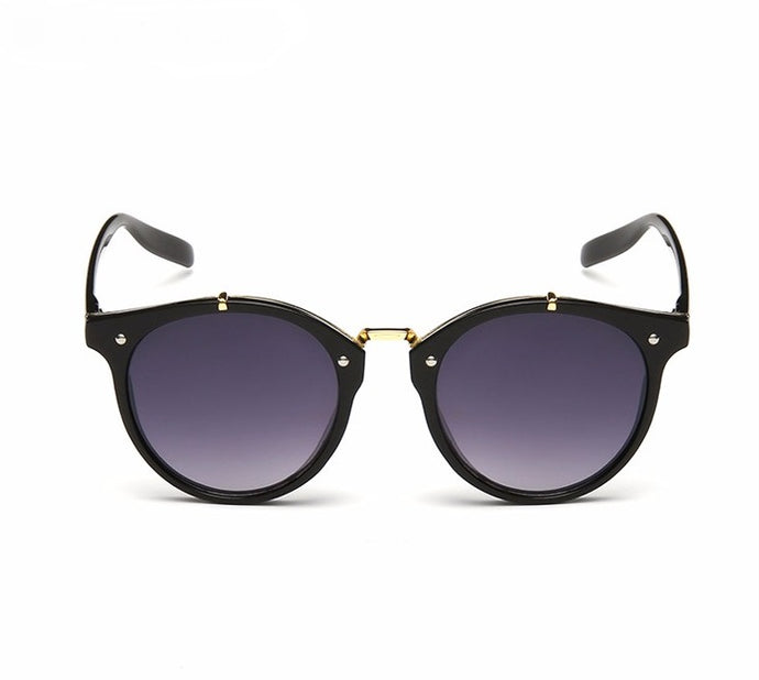 Ralferty Vintage Ladies Gradient Black Gray Sunglasses