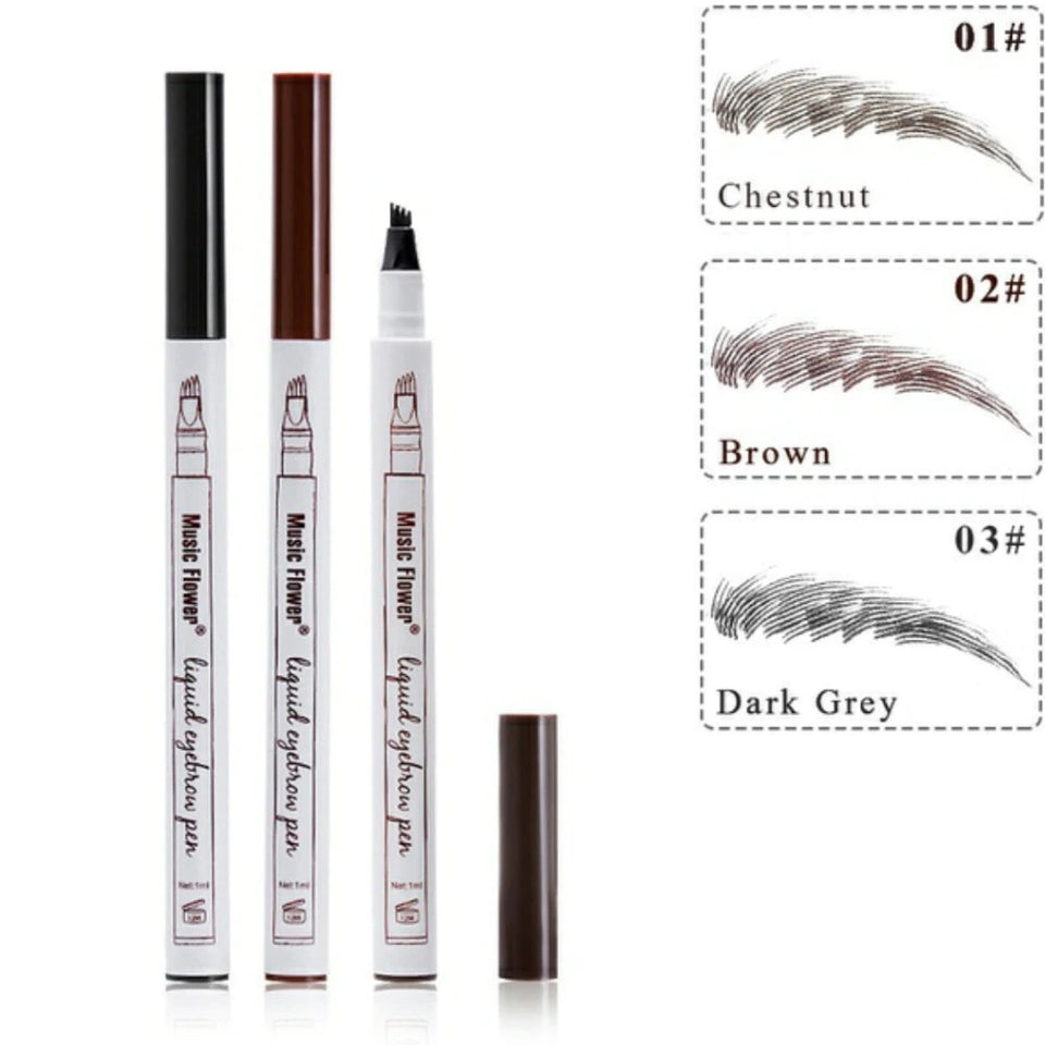 Eyebrow Pencil Waterproof - 3 Color Available Online Shopping Store