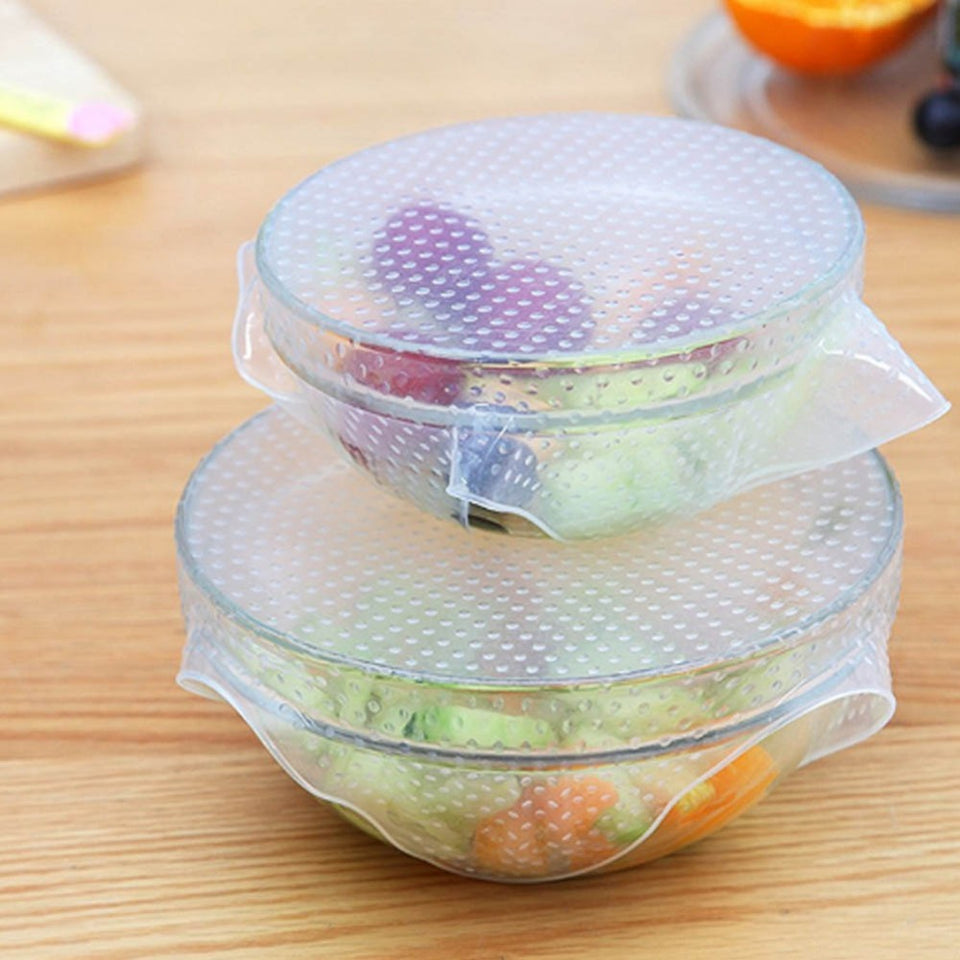 High Quality Square Shaped Silicone Food Bowl Cover Online Store UAE