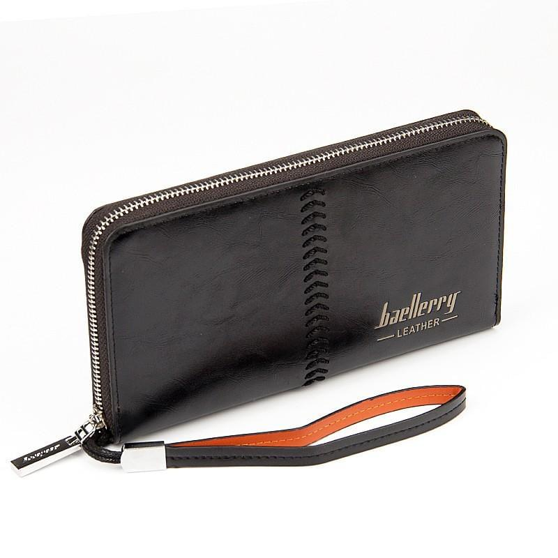 Baellerry Clutch Bag Leather Big Wallet Online Shopping Store