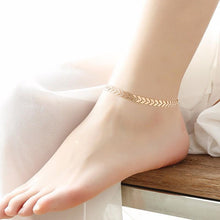 Load image into Gallery viewer, Arrow Ankle Chain Anklets