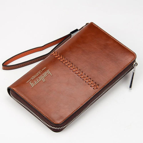 Baellerry Clutch Bag Leather Big Wallet Online Store UAE