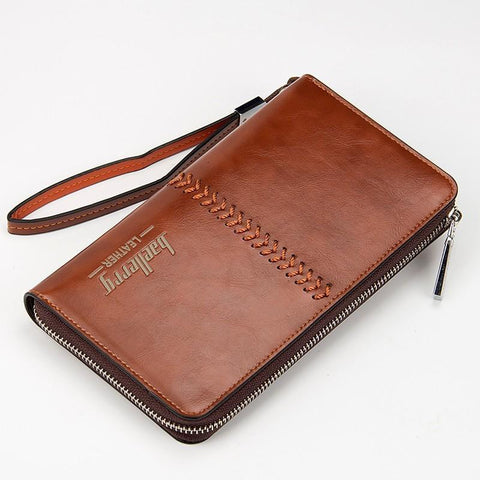 Baellerry Clutch Bag Leather Big Wallet
