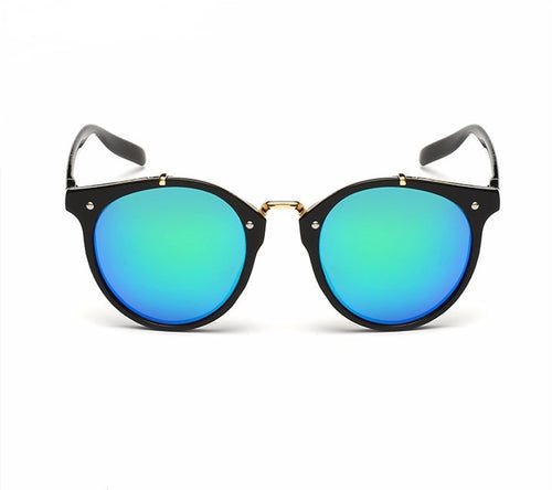 Ralferty Vintage Ladies Gradient Black Green Sunglasses Online Store UAE