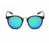 Ralferty Vintage Ladies Gradient Black Green Sunglasses Online Shopping Store