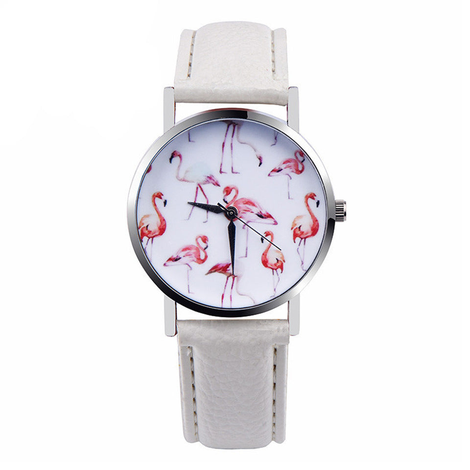 OKTIME 2018 Women Watches White & Red Online Store UAE