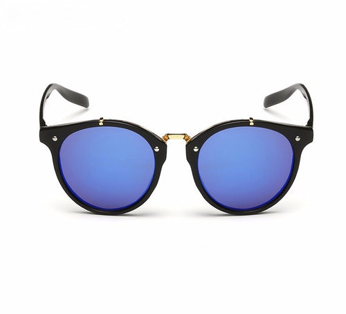 Ralferty Vintage Ladies Gradient Black Blue Sunglasses Online Store UAE