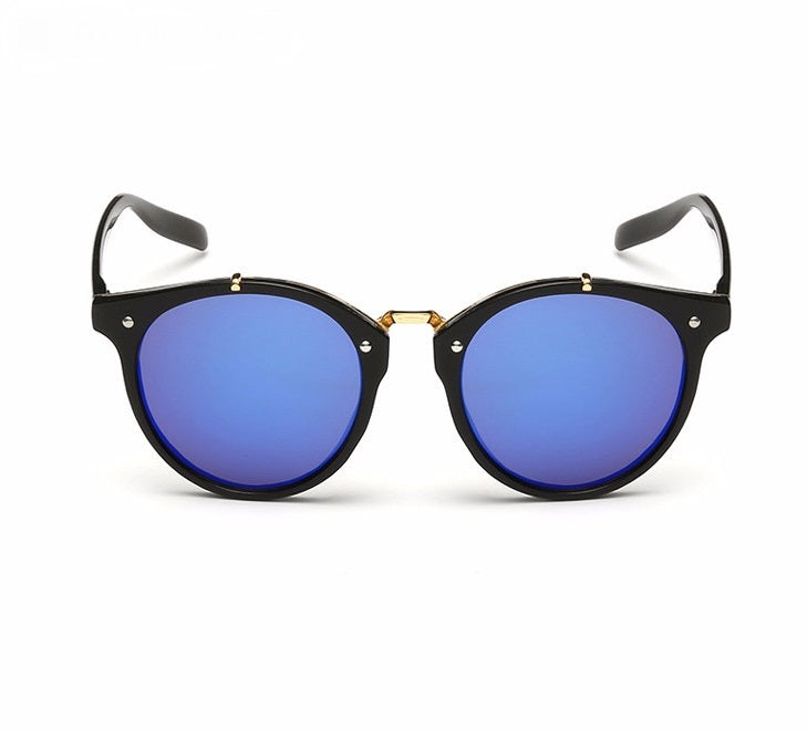 Ralferty Vintage Ladies Gradient Black Blue Sunglasses Online Shopping Store