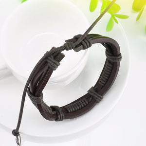 Multi layer Wrap Brown Bracelet Online Store UAE