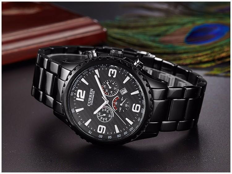 Curren Business Stainless Steel Watch Online Shopping Store