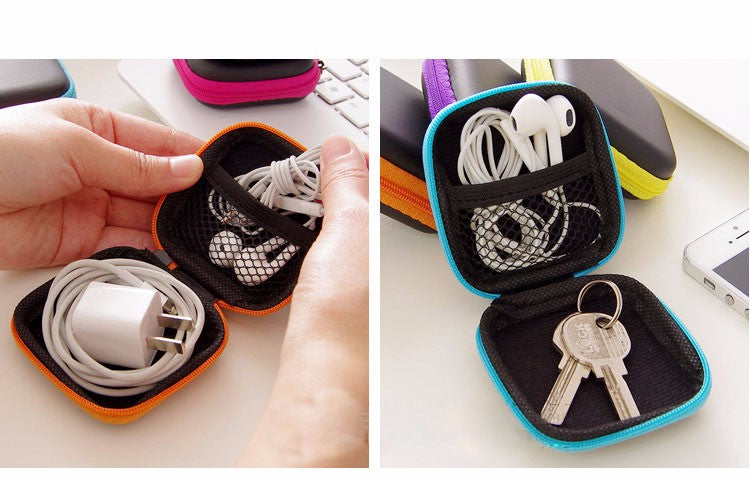 Headphones, Cable Earbuds Boxes SD Card & Bins Hard Case Carrying Pouch Bag Online Shopping Store