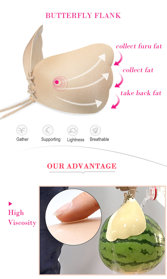 Invisible Pushup Bra Strapless Backless Bra Online Store UAE