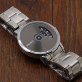 PAIDU - Mesh Silver Steel Band Watch Online Shopping Store