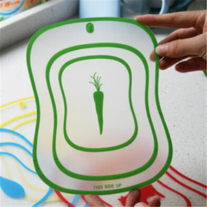 Kitchen Tool - Creative Thin Cutting Plate Plastic Cutting Board Online Store UAE