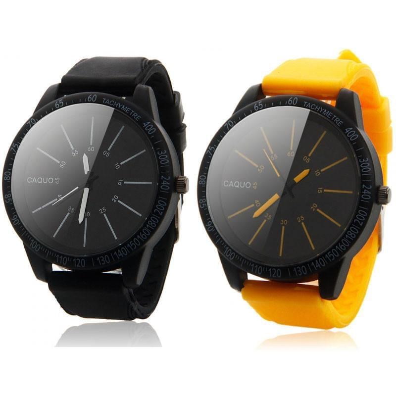 CAQUO Quartz Analog Wrist Watches Online Shopping Store
