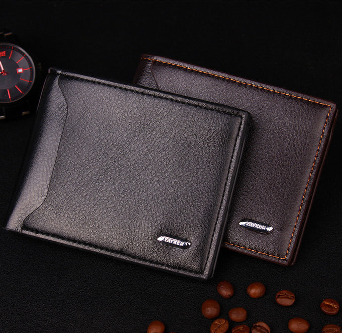 Leather No Zipper Wallets