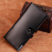 Load image into Gallery viewer, Business Long Leather Wallets