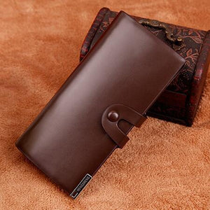 Business Long Leather Wallets