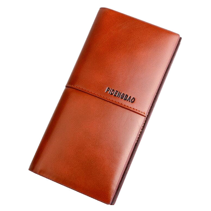 Pideng Long Leather Wallets
