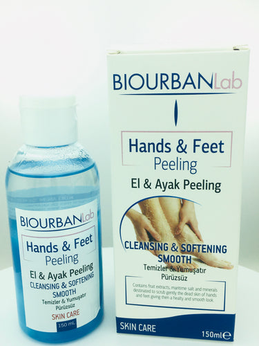HANDS AND FEET PEELING 150 ML (BIOURBANLab)