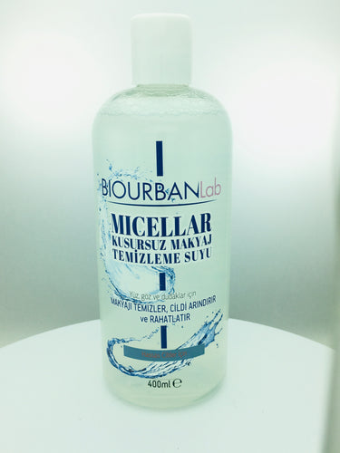 MAKE UP CLEANSING WATER 400 ML (BIOURBANLab)