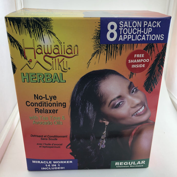Hawaiian Silky Herbal No-Lye Conditioning Relaxer