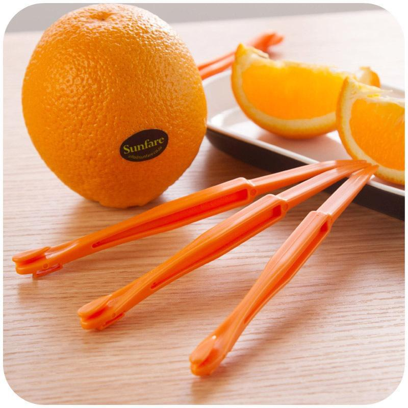 2 pcs/set Orange Peeler Online Store UAE