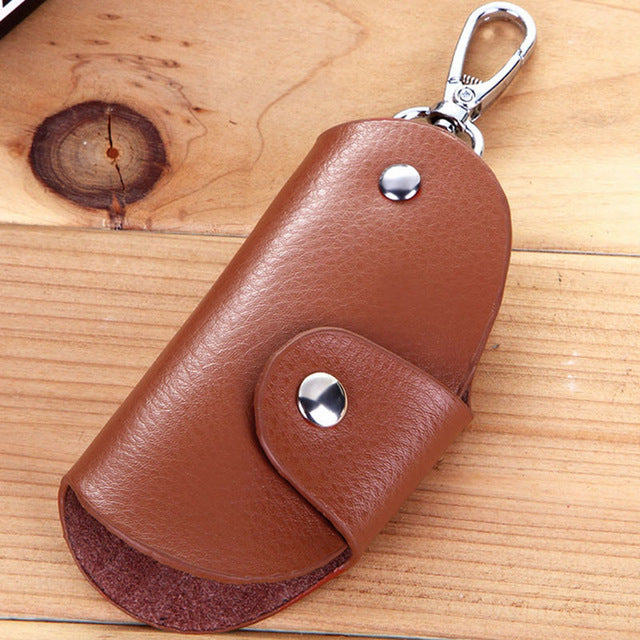 Key Case Leather Wallet