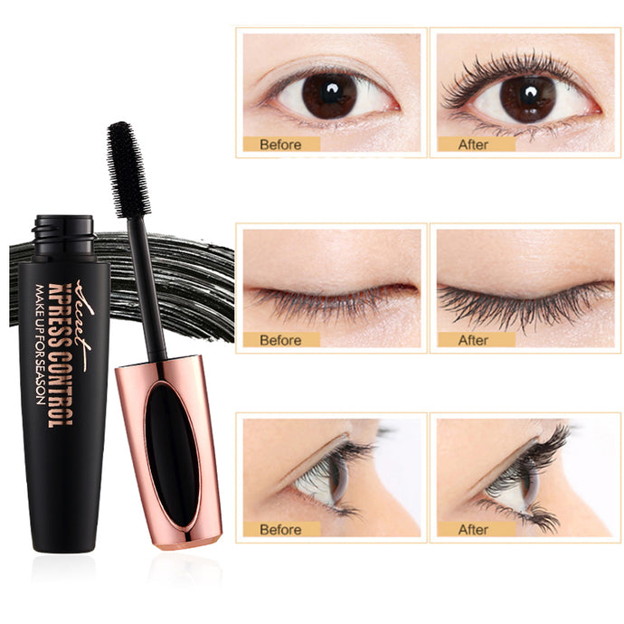 Eyelash Extensions - Waterproof Silk Fiber 4D Mascara