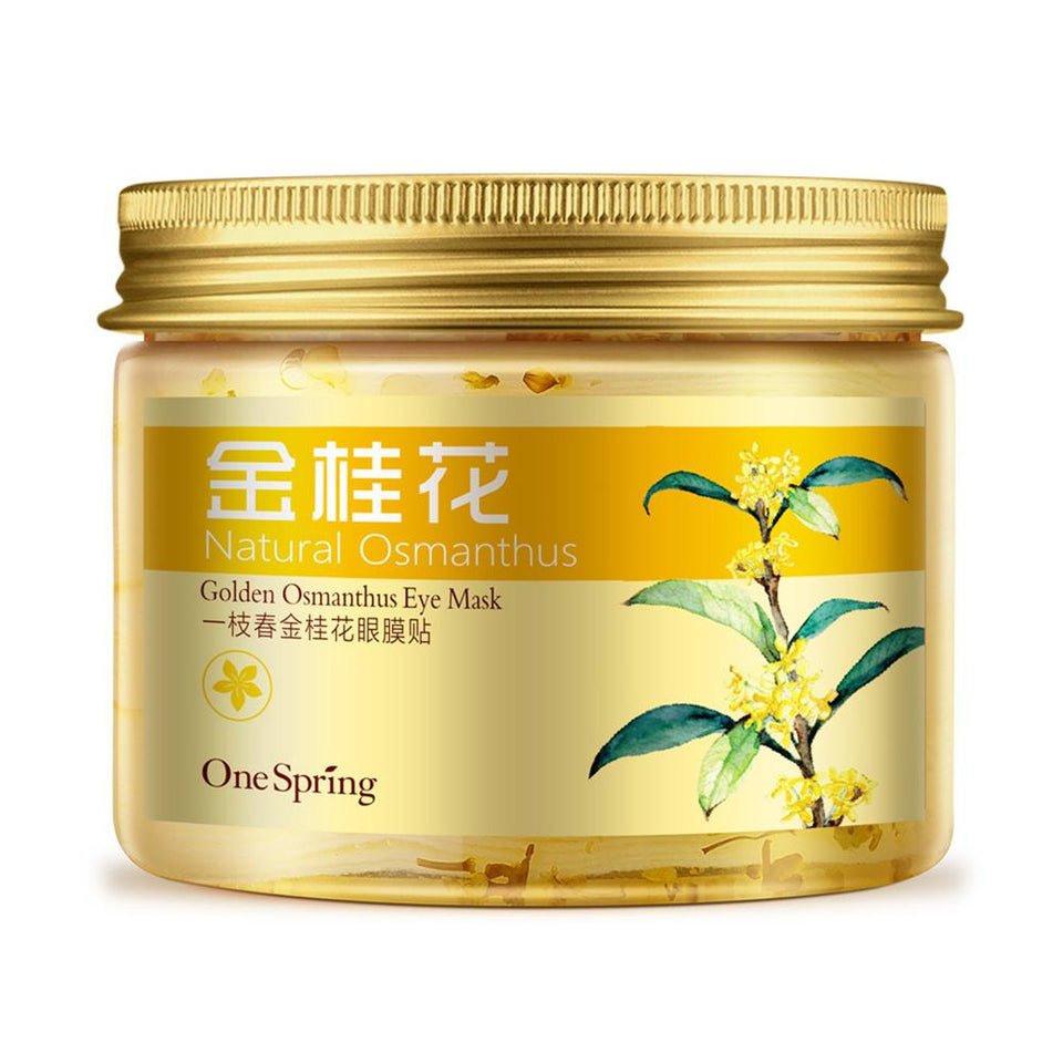One Spring Golden Osmanthus Eye Care Patch Moisturizing Eye Mask Online Shopping Store