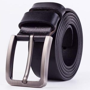 Cow Leather Black Belts ZK005 Online Store UAE