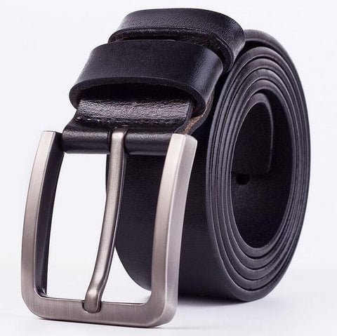 Cow Leather Black Belts ZK005