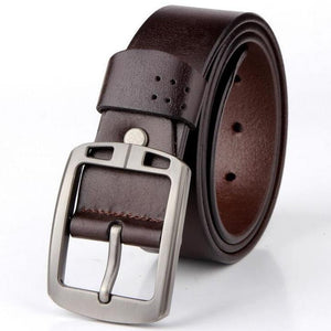 Cow Leather Coffee Belts ZK010 Online Shopping Store