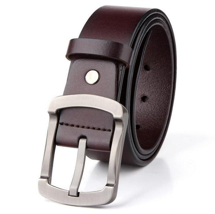 Cow Leather Coffee Belts ZK011