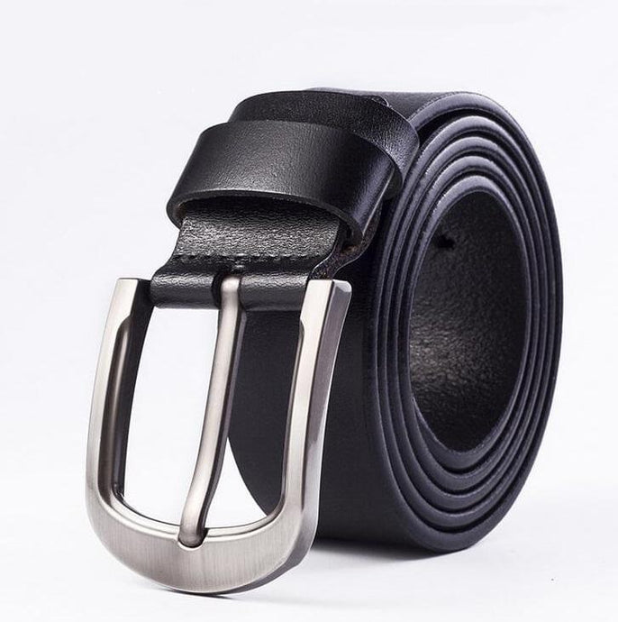 Cow Leather Black Belts ZK012