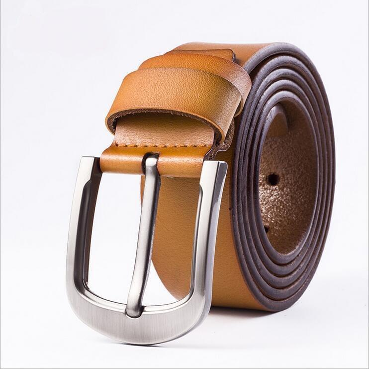Cow Leather Brown Belts ZK012 Online Shopping Store